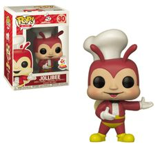 Very cool to see Funko doing figures like this. Jollibee is a popular fast food chain in the Philippines and this is their mascot. Funko Pop Exclusives, Jollibee, Fast Food Chains, Vinyls, Vinyl Figures, Philippines, Popular, Cartoon, Christmas Ornaments