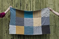 """Banjara"" baby blanket by Swedish design duo RioRio"