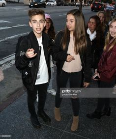 Johnny Orlando and Lauren Orlando are seen on February 11, 2017 in Los Angeles, CA.