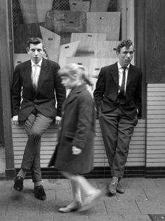 #Nozems at Nieuwendijk, #Amsterdam (1960-1961) photo by #HansPelgrom