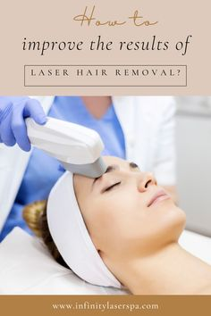 Laser hair removal is a cosmetic procedure that reduces hair growth by up to 95%. The success of the treatment will depend on several factors. Some, you cannot control as they relate to genetics, hair color or skin tone. Infinity Laser Spa, Cosmetic Procedures, Beauty Spa, Laser Hair Removal, Genetics, Hair Color, Skin Care, Haircolor, Skincare Routine