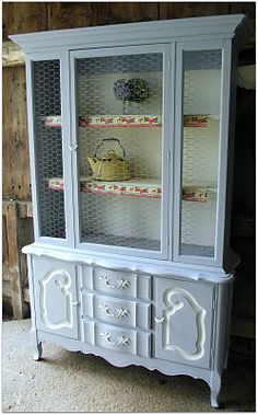 old house. true love.: english cottage hutch