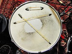 Composition for Snare Drum,Spring and Elastic band.