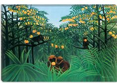Henri Rousseau, The Tropics