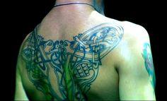 Dave Gahan's back tattoo
