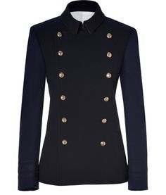 JOSEPH SEE DETAILS HERE: Navy Cotton Ford Jacket
