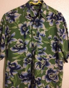 3153fbbd Palm Tree Island, Mens Hawaiian Shirts, Great Father's Day Gifts, Island  Beach,