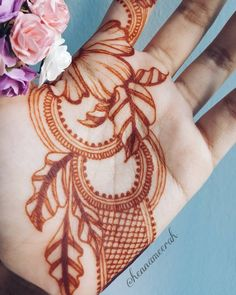 "46 Likes, 1 Comments - Nur Amirah Ramli (@hennameerah) on Instagram: ""Henna on the palm matures nicely and I love the colour it becomes on mine. Kept my henna on for 3…"""