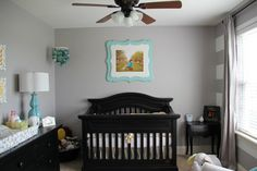Grey, Yellow and Teal Nursery (Gender Neutral)