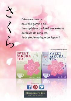 Thé aux extraits de fleurs de cerisiers !