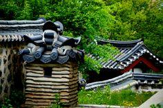 Namganjeongsa, Uam Historic Park Daejeon, Korea April 2014 Daejeon, Korean Wave, Countries Of The World, Geography, South Korea, Asia, Waves, The Incredibles, Landscape