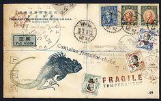 Mail Art Collage by Nick Bantock Mail Art, Collages, Collage Art, Art Carte, Old Letters, Decorated Envelopes, Envelope Art, Lost Art, Junk Journal