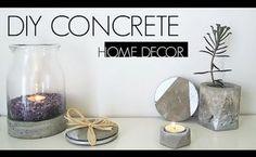 diy concrete home decor, concrete masonry, home decor