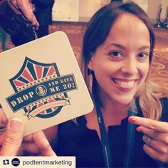 #Repost @podtentmarketing  Love our rockstar client @germonoads @giveme20podcast working the networking with us at #impact16.  @ima_network #arialasvegas #conference #influencer #marketing