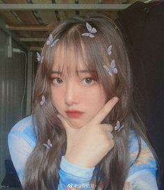Se for pegar comente pg Korean Girl Photo, Cute Korean Girl, Cute Girl Photo, Asian Girl, Ulzzang Hair, Ulzzang Korean Girl, Korean Bangs, Tumbrl Girls, Girl Korea