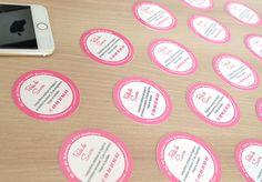 Carte de visite ronde brillante Document, Creative Business Cards, Deceit, Page Layout