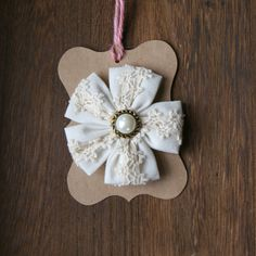 Canvas Lace Flower