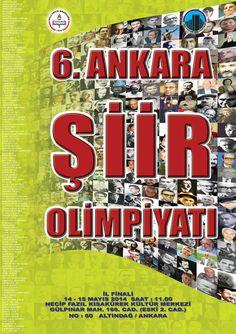 6. Ankara Şiir Olimpiyatı Necip Fazık Kısakürek Kültür Merlezi'nde