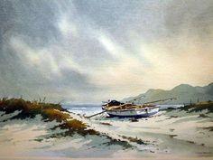 Douglas Treasure (1917 — 1995, SA) watercolour.