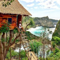 Bali Bungalow - 20 Treehouses From Insta We're Obsessed With - Photos