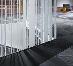 LEMAYMICHAUD | Quebec | Conference Hall | Architecture | Design | Architectural glass | Carpet | Details | Black | Gray | White