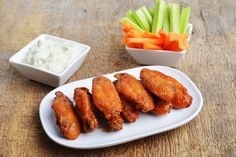 Homemade Chicken Wings: Enjoy homemade chicken wings in less than 30 minutes with this mouthwatering wallet-friendly recipe.