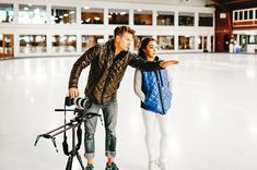 Behind the scenes of a shoot we did with award-winning Canadian figure skater Gabby Daleman!