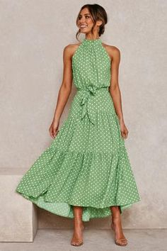 Dress Outfits, Fashion Dresses, Summer Maxi Dress Outfit, Floral Maxi Dress, Mango Maxi Dress, Modest Maxi Dress, Sleeveless Dresses, Cooler Look, Looks Chic