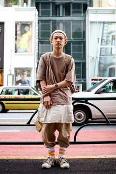 ストリートスナップ | 桑室俊佑 | Lamp 美容師 | 原宿 (東京)