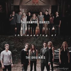 [The Vampire Diaries] [The Originals] — #theoriginals #thevampirediaries #tvd #klausmikaelson #elijahmikaelson #rebekahmikaelson…