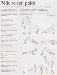 Health Yoga N ° 129 – June 2012 By Clara Truchot Reducing Her Weight: This subject is part of the ills of our time because overweight, which ranges from a few extra pounds to obesity can be harmful to health: hyper-tension, lumbar pain (column … – Yoga Fitness, Yoga Gym, Physical Fitness, Yin Yoga, Yoga Meditation, Yoga Flow, Tai Chi, Qigong, Sport Motivation