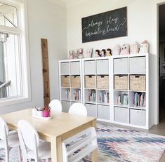 Surprising 14 Beegcom Fall Home Decor Trends Best Price Furniture And Mattress Yulee Fl Playroom Design, Playroom Decor, Kids Decor, Home Decor, Dining Room Playroom Combo, Playroom Ideas, Toddler Playroom, Playroom Organization, Kids Playroom Storage