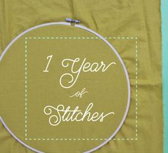 Happy (almost) new year! I'm so excited that you're making 2017 your year of embroidery. Since January 1st is quickly approaching, I wanted to over a few things with you. Many people have emailed me a...