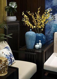 Décor asiatique - Aménagement & décoration appartement 190m² style asiatique