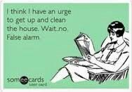 4/6/15 MONDAY - My house is a disaster!