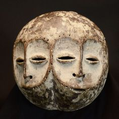 Nu in de #Catawiki veilingen: African Tribal LEGA Double Face Mask. Democratic Republic Congo.