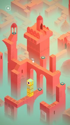 Mobile App Success Story: How Monument Valley Did It Monument Valley Game, Isometric Art, Movie Gift, Games For Teens, Best Iphone, Game Design, Easy Drawings, Game Art, Illustration