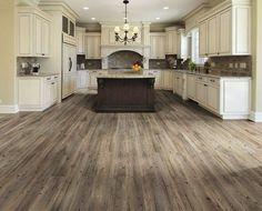 28 Antique White Kitchen Cabinets Ideas in 2019 - Kitchen Design Ideas Antique White Cabinets - Hardwood Floors In Kitchen, Grey Wood Floors, Wood Floor Kitchen, Kitchen Flooring, Wood Flooring, Flooring Ideas, Long Kitchen, Ikea Kitchen, Grey Hardwood