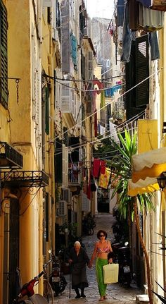 Corfu Town, Ionian Sea, Greece