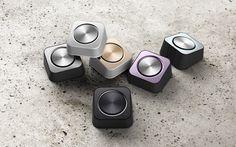 Bluetooth Speaker Metal square by Damon Lin, via Behance