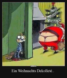 Ein Weihnachts Dekolleté.. | Lustige Bilder, Sprüche, Witze, echt lustig