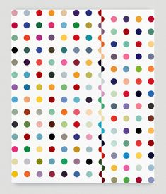 I like it♡Damien Hirst Chloramphenical Acetytransferase,1996 http://www.damienhirst.com/chloramphenicol-acetyltransfer