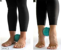 "Fitness Inspiration : ""Build a better pointe by strengthening underused foot and ankle muscles with th… – Fitness Magazine Fitness Workouts, Sport Fitness, Yoga Fitness, Dance Teacher, Dance Class, Dance Studio, Dance Training, Cross Training, Strength Training"