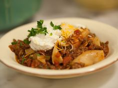 Sunny's Pan-sagna - One Pan Plan Lasagna Recipe : Sunny Anderson : Food Network - FoodNetwork.com