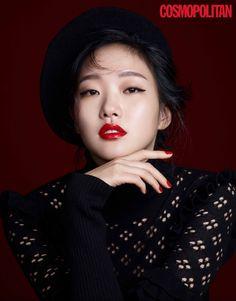 김고은(金高恩 Kim Go-eun) Kim Go Eun - Cosmopolitan Magazine December Issue '16