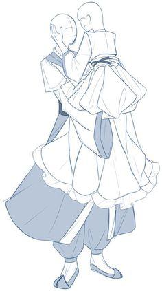 커플 이메레스 모음 10 : 네이버 블로그 Manga Drawing Tutorials, Drawing Sketches, Art Drawings, Drawing Tips, Pencil Drawings, Figure Drawing Reference, Art Reference Poses, Drawing Couple Poses, Comic Book Layout