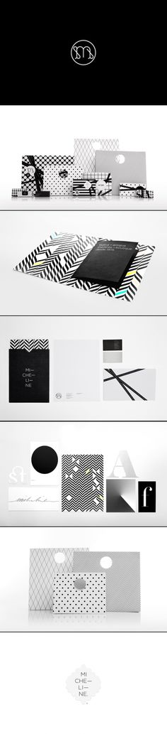 Micheline | Anagrama stellar in black and white and popular packaging branding PD