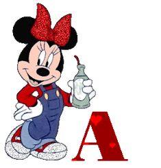 Abecedario Animado con Corazones y Minnie tomando Batido. Corazones Gif, Minnie Mouse, Animation, Blogger Templates, Page 3, Mousse, Disney Characters, Fictional Characters, Creations