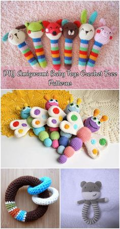 DIY Amigurumi Baby Toys Crochet Free Patterns