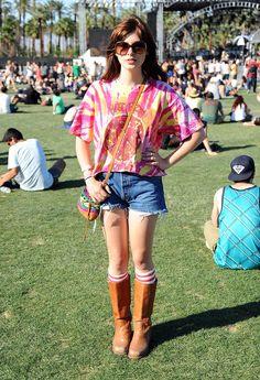 El street style de Coachella 2012